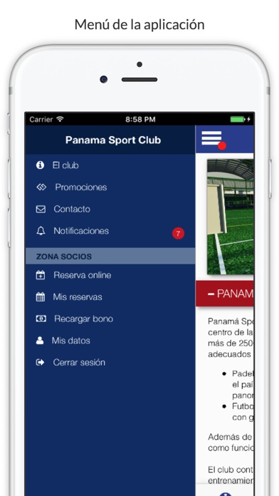 Panama Sport Club - PSC screenshot 5
