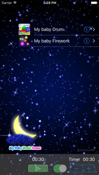 私の赤ちゃん オルゴール(子守唄) ScreenShot2