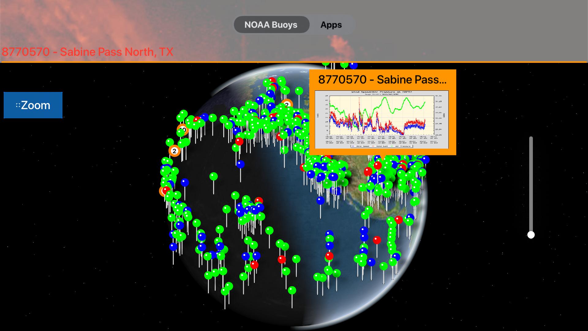 Instant NOAA Buoys 3D screenshot 16