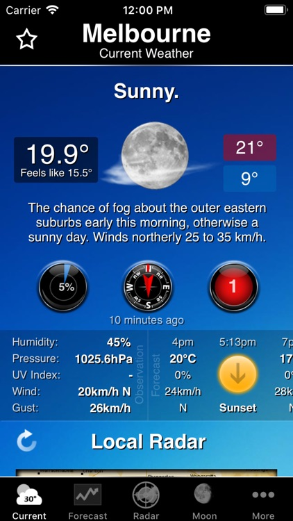Australia Weather Information