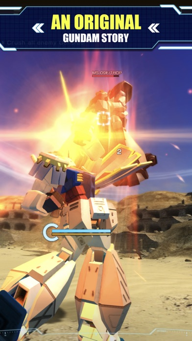 GUNDAM BATTLE: GUNPLA WARFARE screenshot 5
