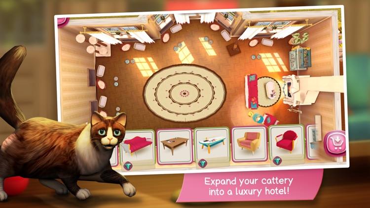 CatHotel - Care for cute cats screenshot-3