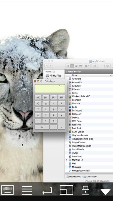 Mocha VNC Lite screenshot two