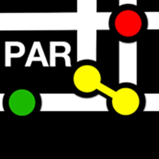 Карта Метро Париж