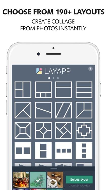 Layapp Pro – Collage Maker screenshot-0