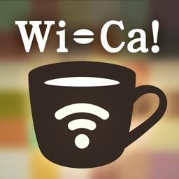 Wifi カフェが見つかるマップアプリ-Wi-Ca!