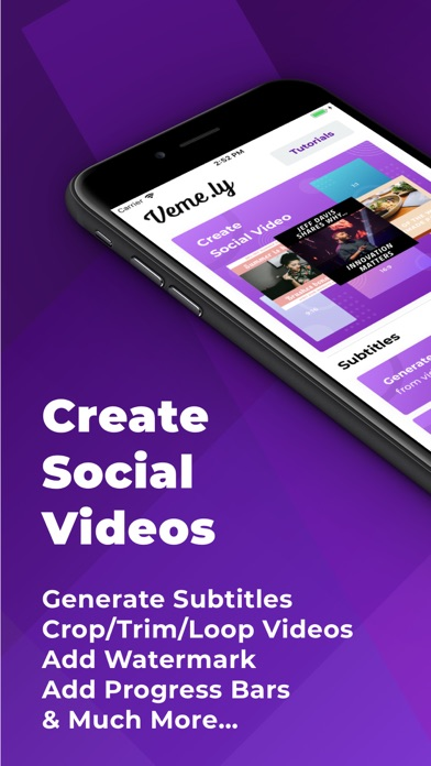Veme.ly: Transcribe Videos screenshot one