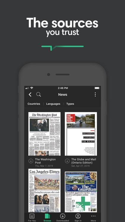 PressReader screenshot-7
