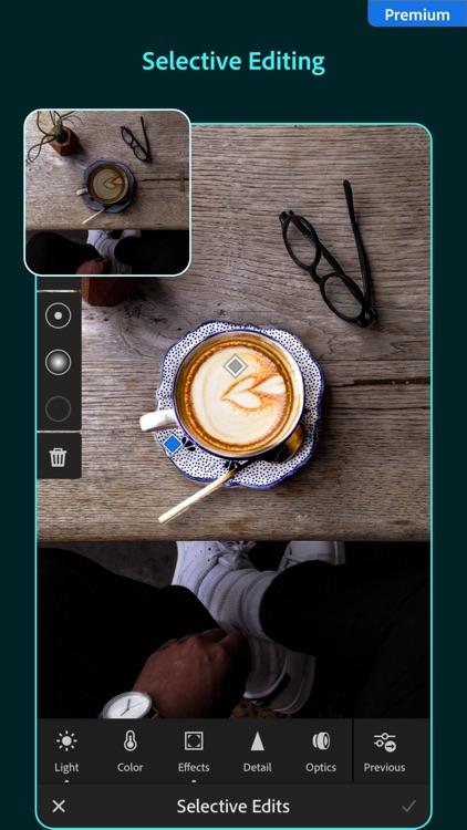 Adobe Lightroom Photo Editor screenshot-7