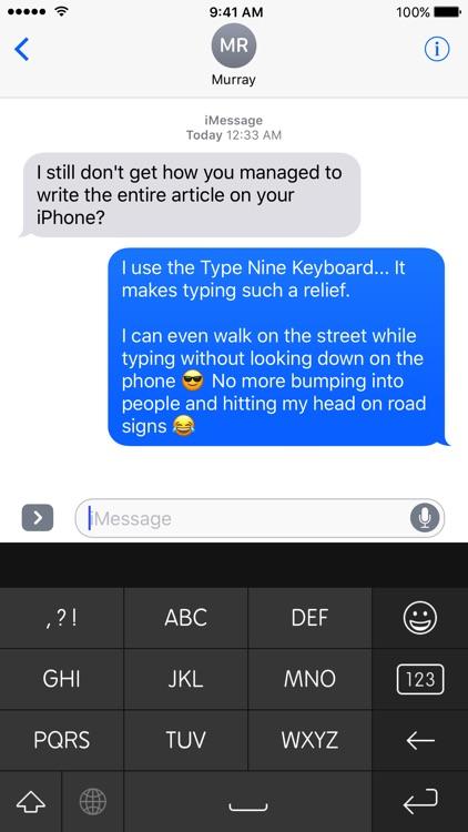 Type Nine - T9 Keyboard