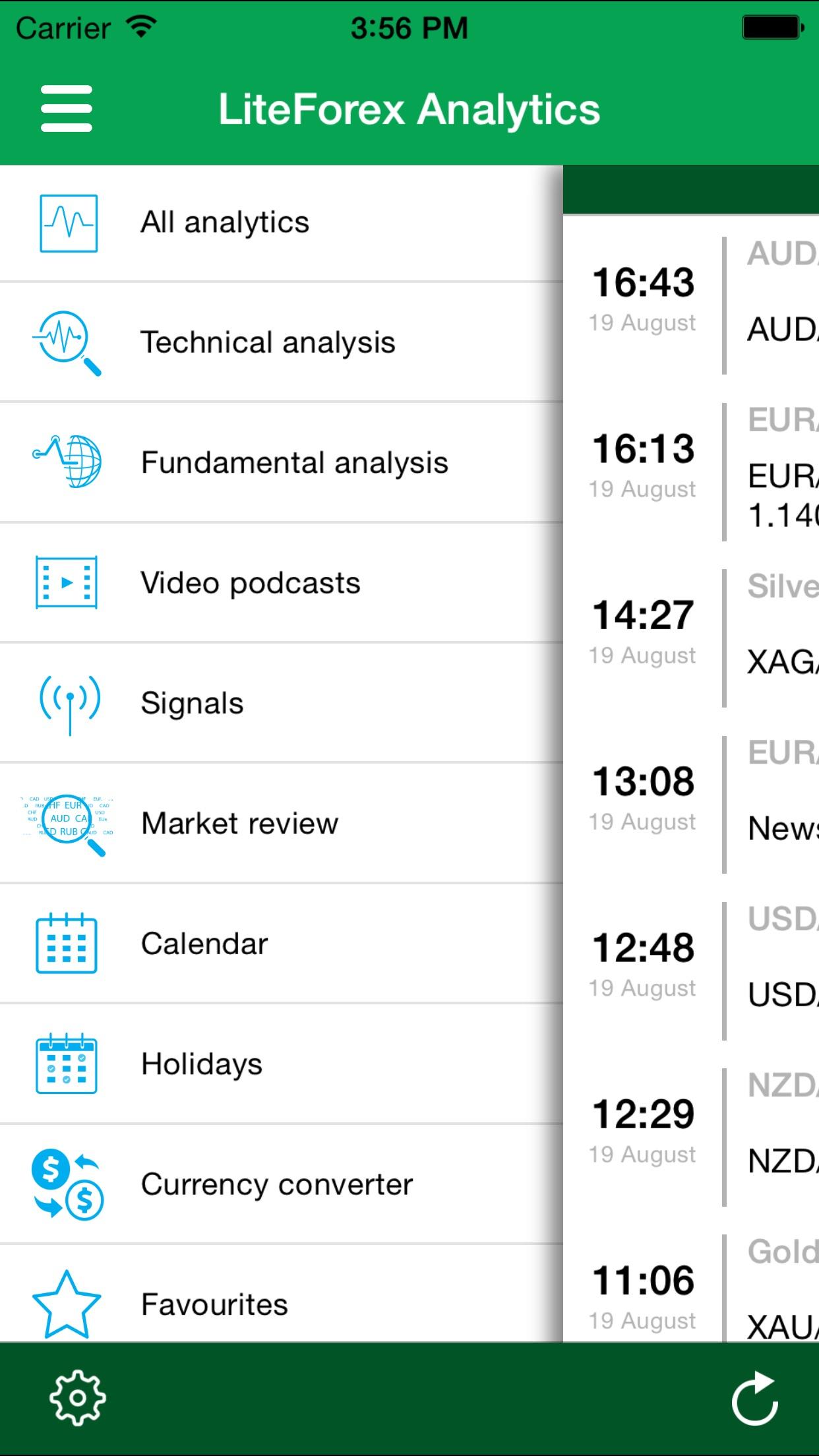 Forex Trading with LiteForex Screenshot