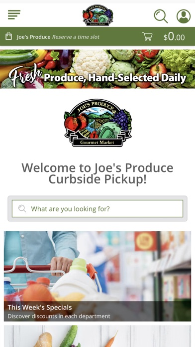 Joe's Produce screenshot 1