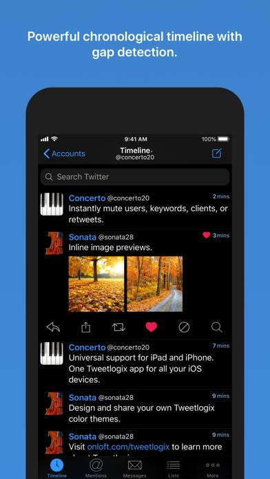 Tweetlogix for Twitter Screenshots
