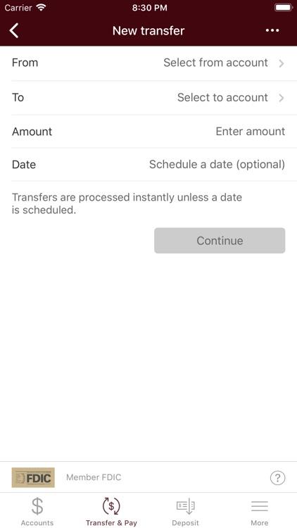 M.Y. Safra Bank-Mobile Banking screenshot-4