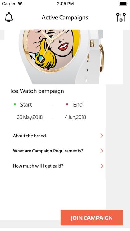 Peersway - Get paid by brands screenshot-3