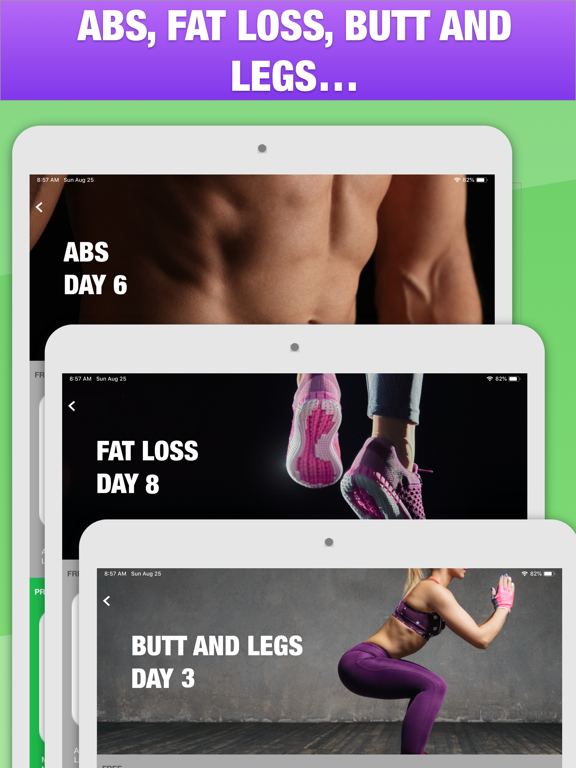 5 Minute Home Workouts - Quick abs, fat loss, fitness, yoga and core exercises for men and women screenshot