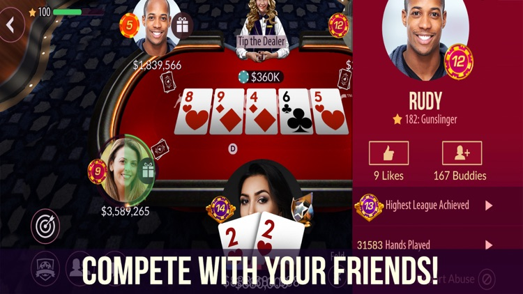 Zynga Poker - Texas Holdem screenshot-1