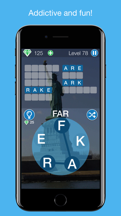 Snappy Word - Word Puzzle Game screenshot one