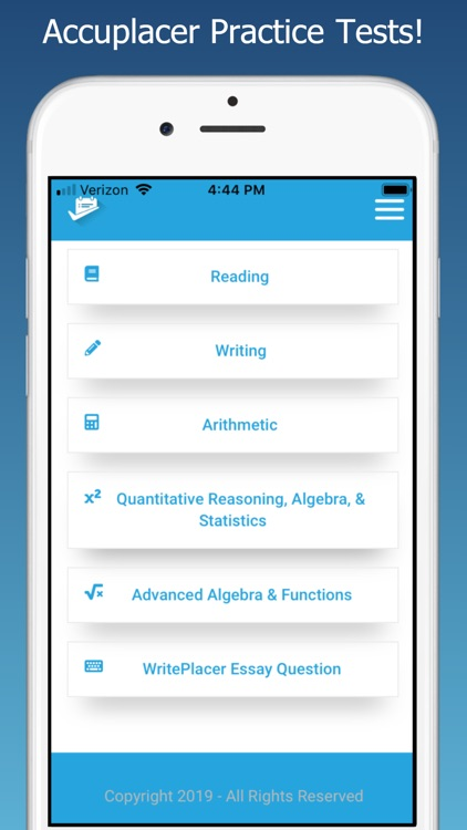 Accuplacer® Test Prep by Instant Test Prep LLC