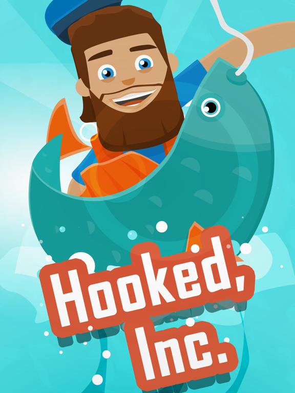 iPad Image of Hooked Inc: Fisher Tycoon