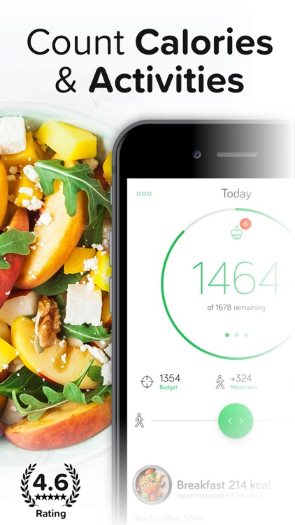 Calorie & Food Counter | Arise screenshot-0