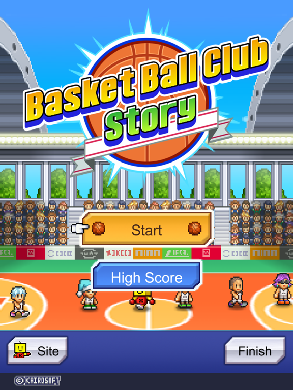 Ipad Screen Shot Basketball Club Story 4