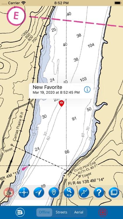 Snake River (WA) Marine Map screenshot-5