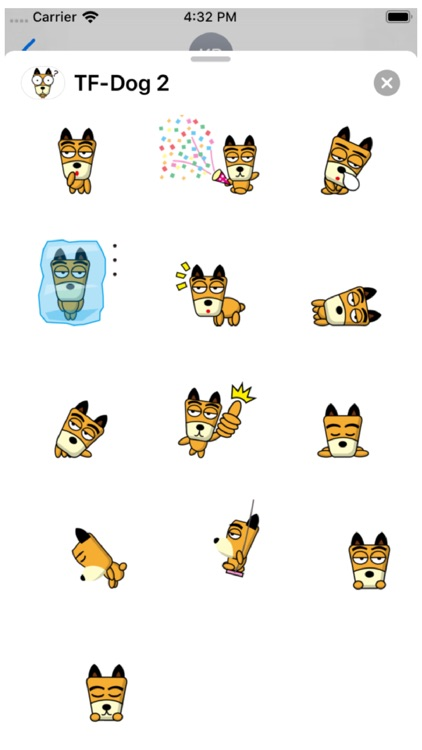 TF-Dog 2 Stickers screenshot-3