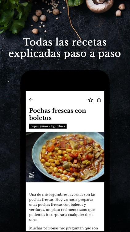 Recetas de cocina Sergio Señor