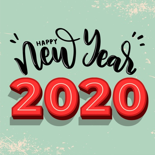 Welcome 2020 New Year Stickers