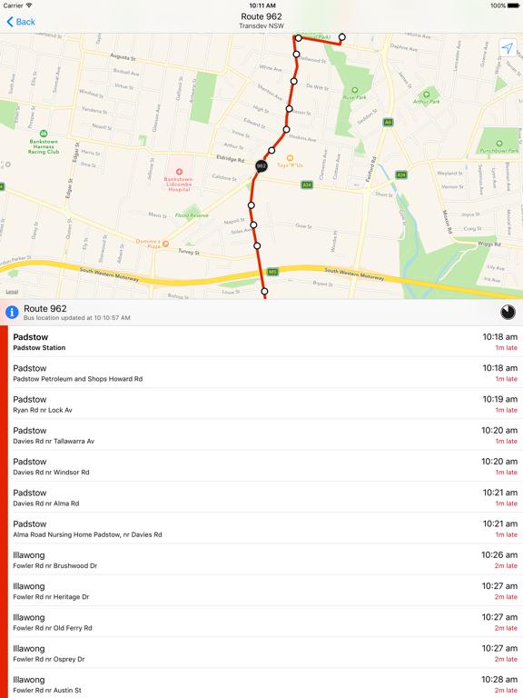 TripView Lite - Sydney & Melbourne screenshot