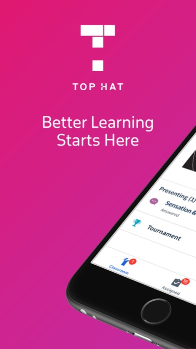 Screenshot for Top Hat - Better Learning in United States App Store