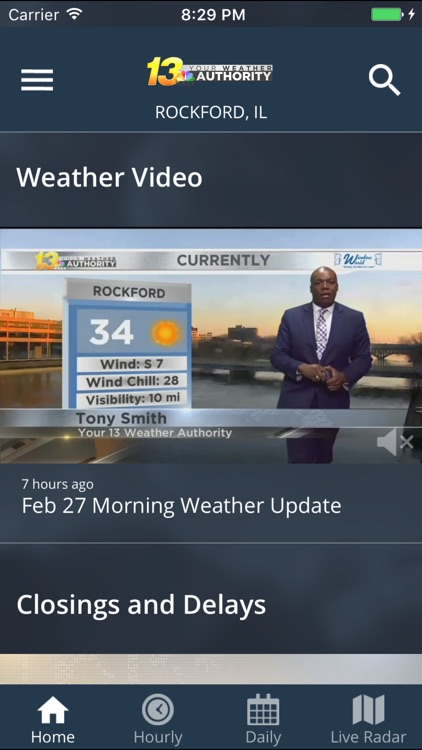 WREX Weather screenshot-1