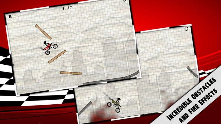 Stick Stunt Biker screenshot-3