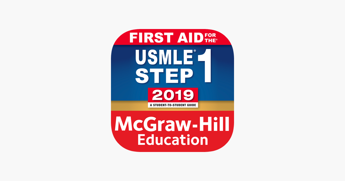 ‎First Aid USMLE Step 1 2019