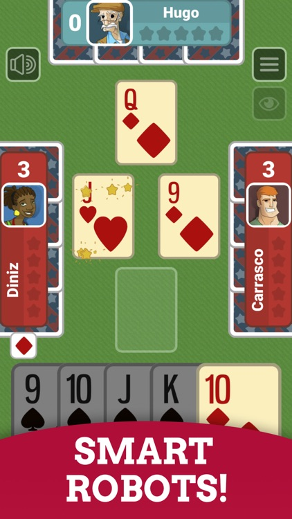 Euchre: Multiplayer Card Game screenshot-3