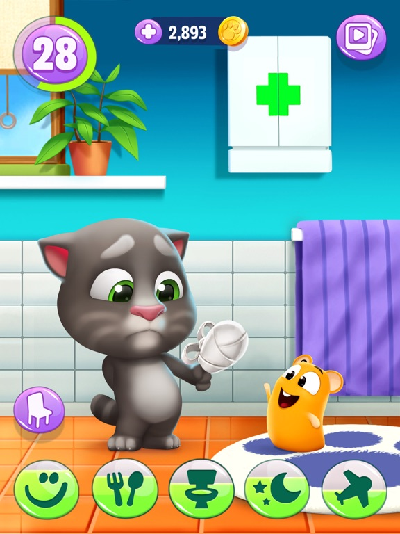 iPad Image of My Talking Tom 2