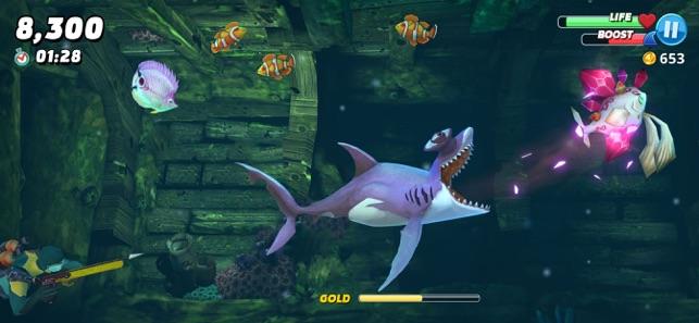 hungry shark apk hile indir ios