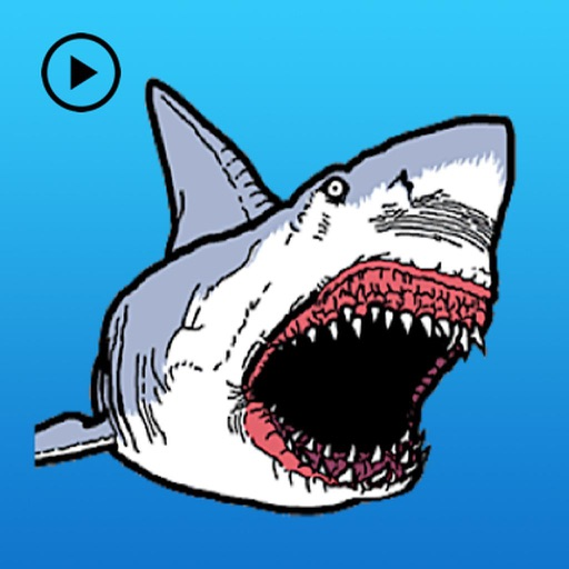 Animated Horrible Shark Attack