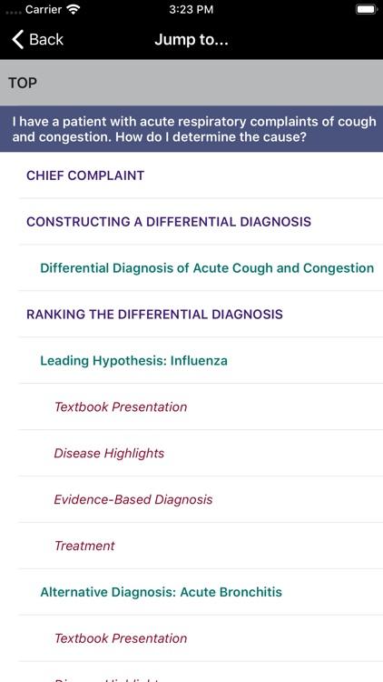 Symptom to Diagnosis 4/E screenshot-4