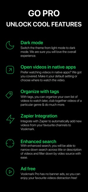 Vookmark - Video Bookmarking on the App Store