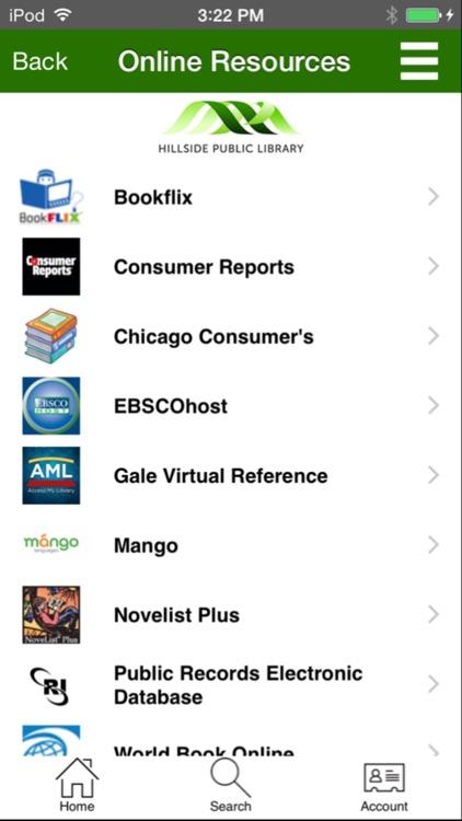 Hillside Library screenshot-3