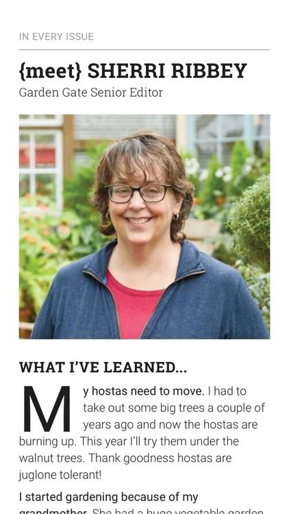 Garden Gate Magazine screenshot-3