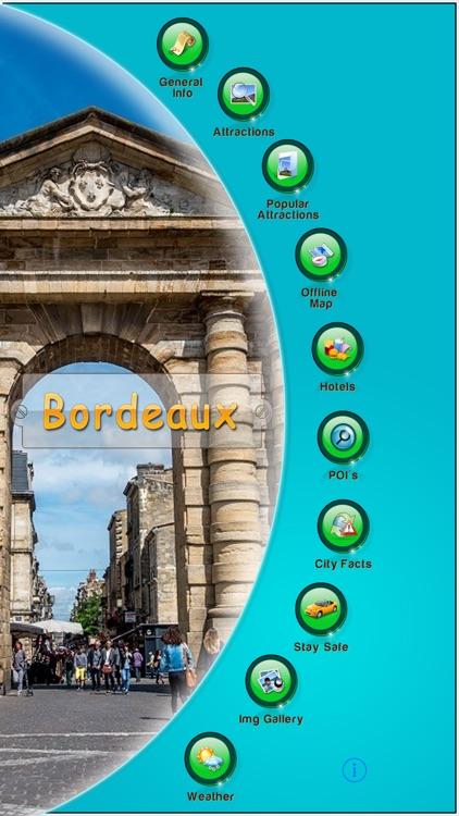 Bordeaux Offline Map Guide