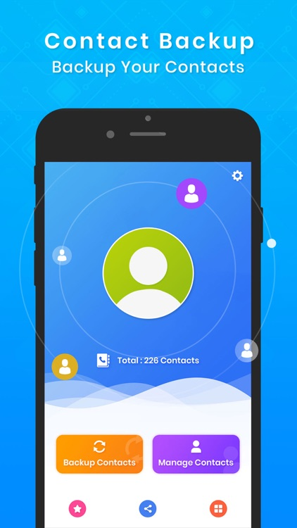 My contacts offline backup