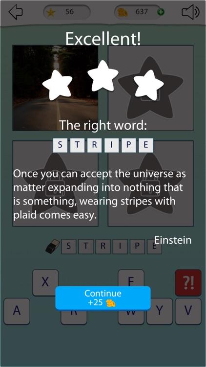 4 pics 1 word: Guess the word screenshot-4