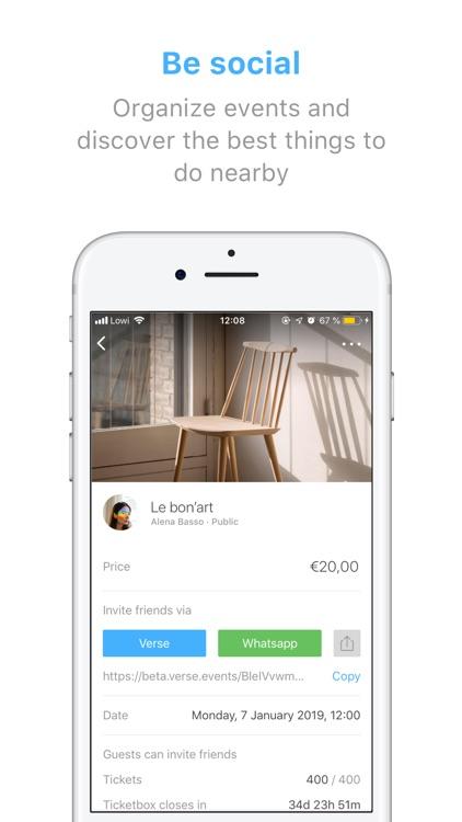 Verse - Send and request money screenshot-4