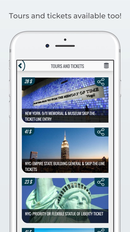 NEW YORK City Guide and Tours screenshot-5