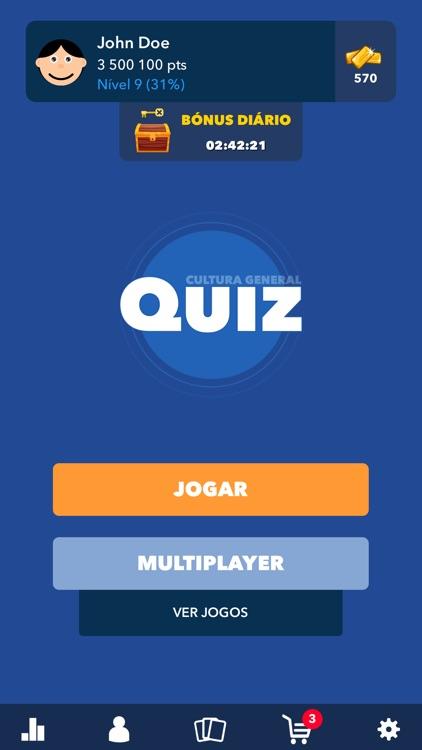 Quiz Conhecimentos Gerais BR