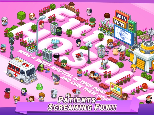 Fun Hospital - Tycoon is back on the App Store